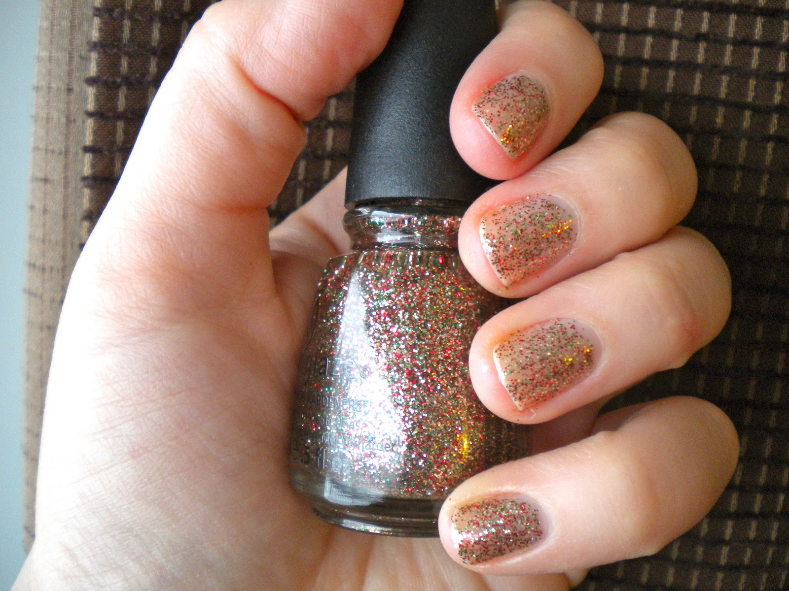 Holiday Mani-Fest: China Glaze Twinkle Lights – Below Freezing Beauty